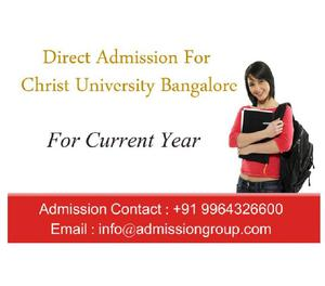 Christ University Direct admission,Christ University{CHRIST}