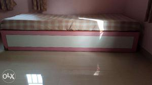 Double Bed (Folding type) in good working condition for sale
