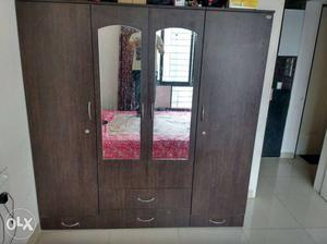 Wardrobe 6 ft*6.3 ft, queen size bed 5 ft* 6.7ft