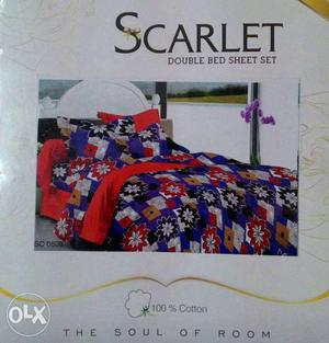 We have all types of new double bedsheets Branded
