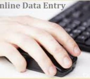 center based data entry work and form filling work.