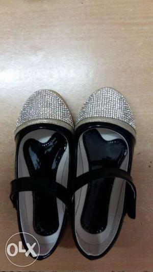 Brand new party wear shoes for kids age 4-5 yrs