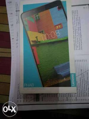Lenovo Calling fab 4g+wifi Gud condition Urgent