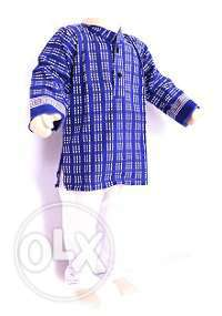 Traditional Designer Kids Cotton Wear Kurta Pajama Set
