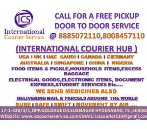 international courier service Hyderabad