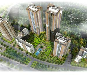 2 BHK 3 side open residential apartment available for rent