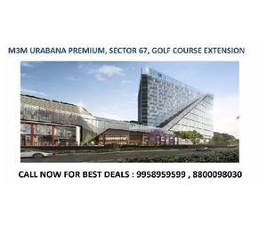 M3m urbana premium, m3m urbana premium golf course extension