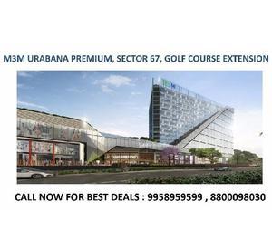 m3m urbana premium new project, m3m urbana golf course exten