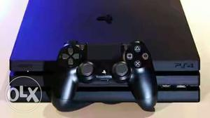 Black Ps4 Pro Game Console