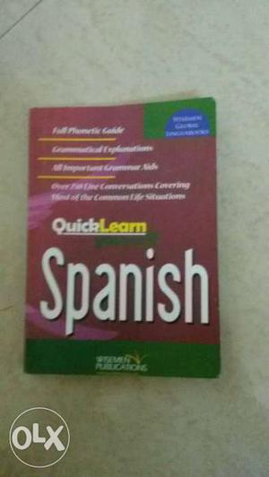 Book in new condition. Easy to learn Spanish.