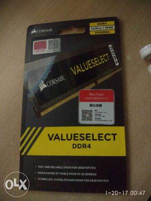 Corsair Value Select Brand New sealed Ram It's a