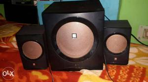 Iball bluetooth speaker 3 Black And Brown Speakers