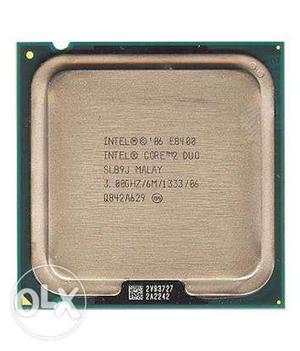 Intel Core 2 Duo Processor EGHz MHz 6MB