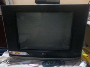 Lg 21 inch crt tv with good condirion only 4 year