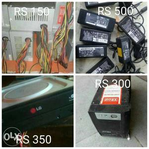 Original leptop Charger Dell hp New condition