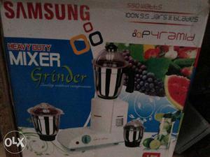 Samsung Pyramid Heavy Duty Mixer Grinder Box