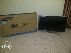 Samsung led tv box packed