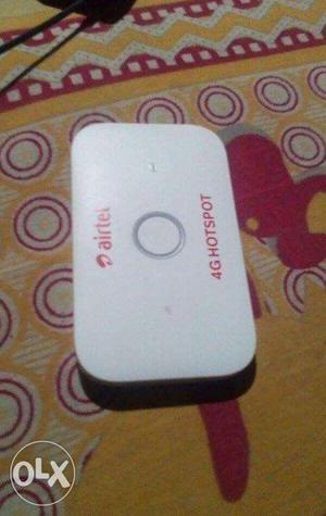This is airtel 4G hotspot whivh is jio sim
