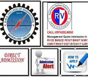 Admission in BMS College Of Engineering All Courses under