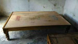 Trivandrum furniture teak wood only used diwan cot for  : Brand New Assam Teak Wood Diwan Cot Heavy Gauge 20170122111804 from class.posot.in size 1000 x 562 jpeg 29kB