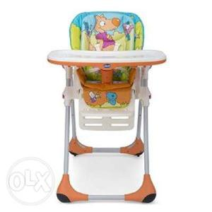 Chicco Baby High Chair & Fisher Price Musical Walker