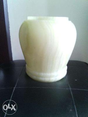 Green Marble pot