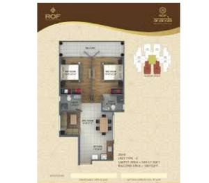 ROF Ananda Sector 95 Gurgaon 1BHK
