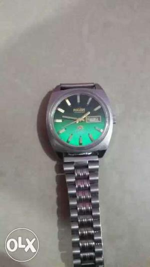 2 piece Ricoh automatic day date antique watch
