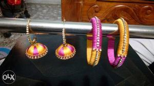 Bangles & Ear ring set