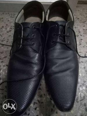 Genuine leather shoes. Size 7 used only one time.