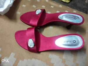 Heels for women in very good condition not use