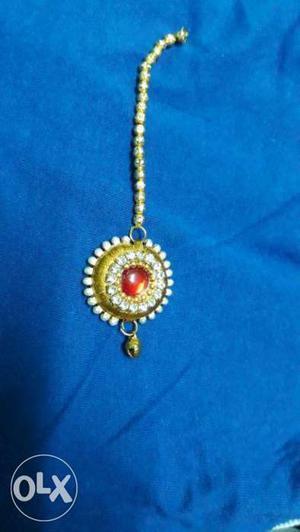 Ruby Gold And Diamond Bracelet