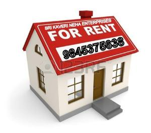 House for Rent at Jaibharath Nagar (ITC info Tech)