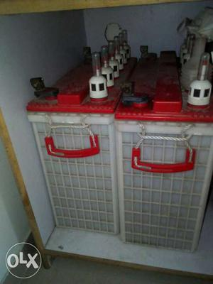 1 and half year old double battery inverter 24V /  EB