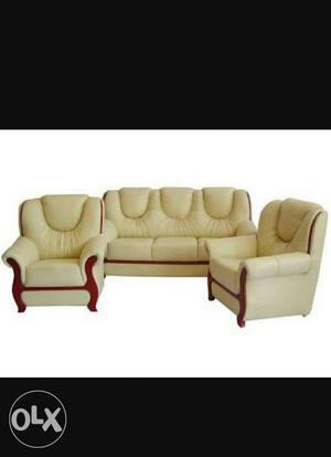Branded new 3+1+1 sofa set Cal:- nine three