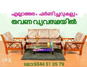Hi_quality fresh sofa set on EMI scheme Easy
