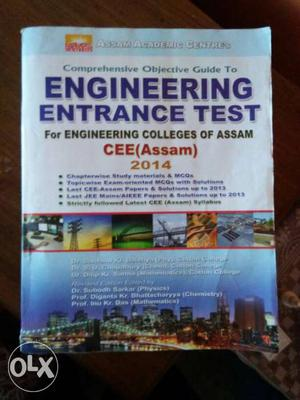 Engineering Entrance Test Cee  Book