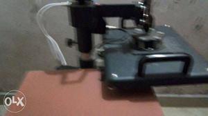 Het parss machine T shart print mag print pelat