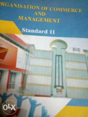 Organisation Of Commerce And Management Standard 11 Book