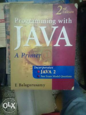 Programming With Java A Primer Book