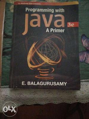 Programming With Java A Primer By E Balagurusamy