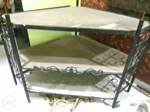 TV stand for sale. Made of iron