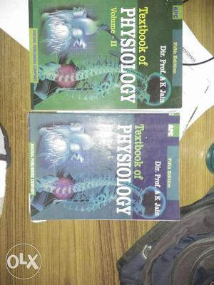 Textbook Of Physiology by A.K. Jain. Volume 1 And 2 Set