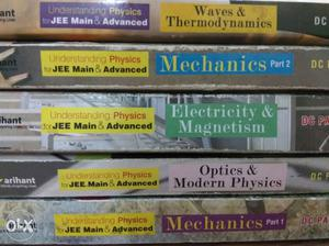 Understanding Physics For Jee Main & Advanced Book Series