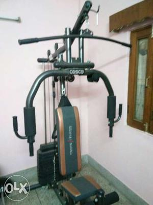 A home gym from cosco. 2 years old...