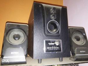 Black Intex Audio Speaker