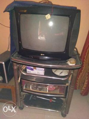 Black Lg Crt Television