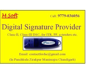 Digital Signature Certificate DSC in Manimajra Panchkula