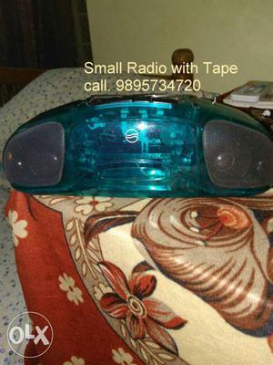 Fancy mini tap_recorder with radio