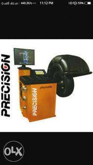 Tyre changer +wheel balancer +Compressor 3Hp achi